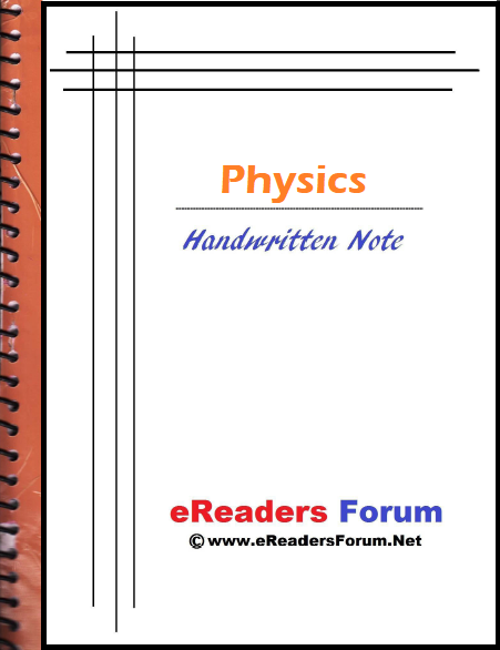 Physics handwritten notes pdf download